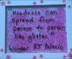 kindness like glitter 365 DW