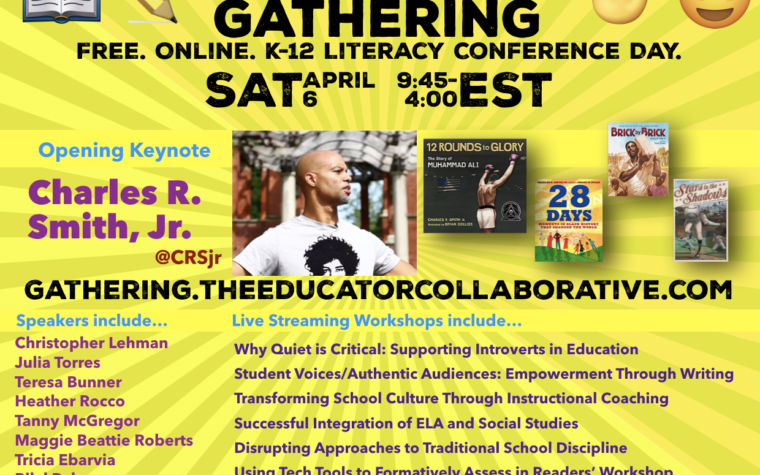 5 Reasons to Join the Spring 2019 #TheEdCollabGathering